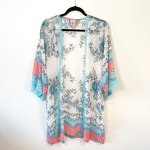 In Bloom by Jonquil Floral Robe Size Medium